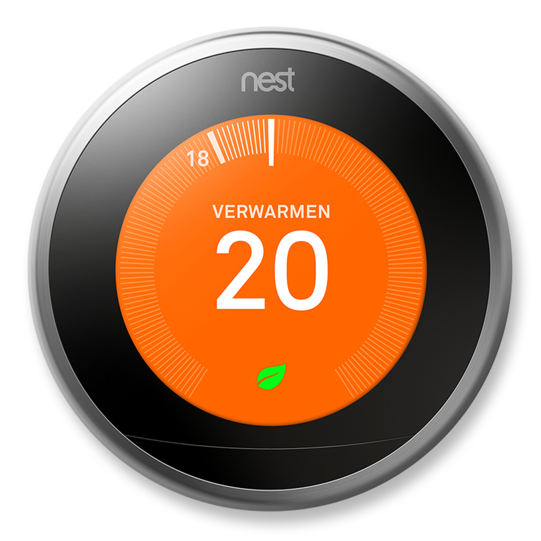 Nest Learning Thermostat installeren